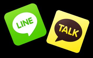 LINE-and-KakaoTalk